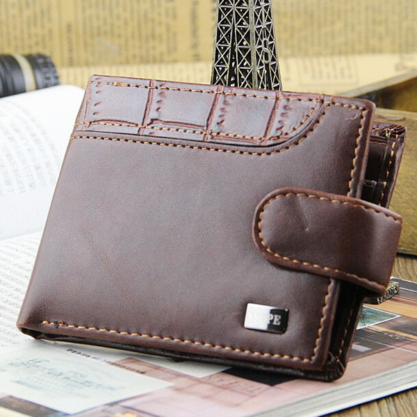 Casual Wallets For Men Top Purse Men Wallet With Coin Bag