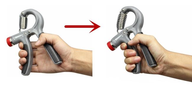 Adjustable 40KG Heavy Grip Hand Gripper Strength Training Grips