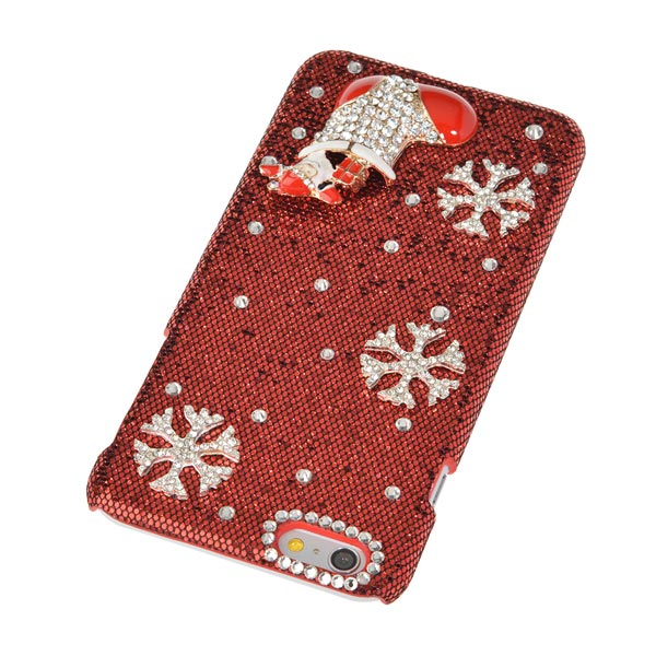 Bling Christmas Stocking Case For iPhone 6 Plus & 6s Plus