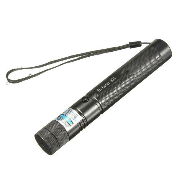 303 405nm lumière violette puissance élevée pointeur laser réglable + touches