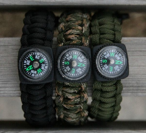Camping Outdoor Umbrella Rope Opener Survival Rope Bracelet