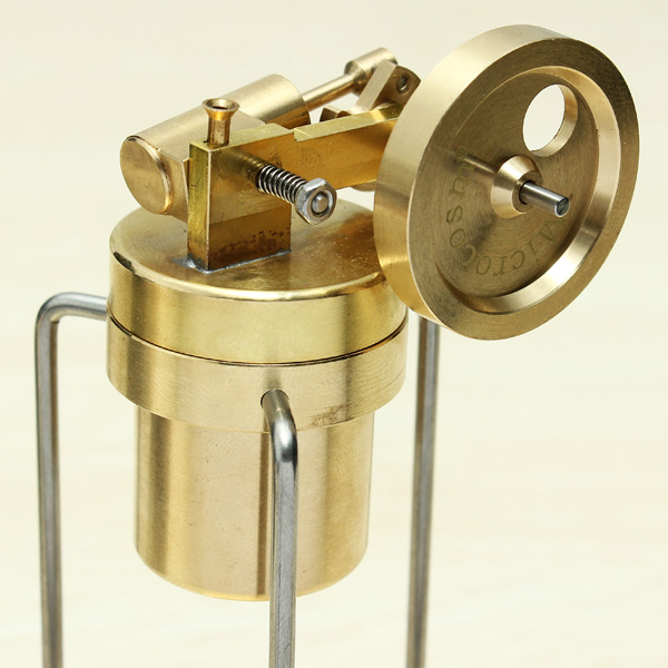 Microcosm Mini Live Steam Engine Brass Stirling Engine Model Science Education