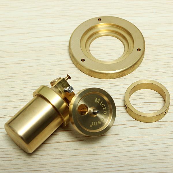 Microcosm Mini Live Steam Engine Brass Stirling Engine Model Science Education