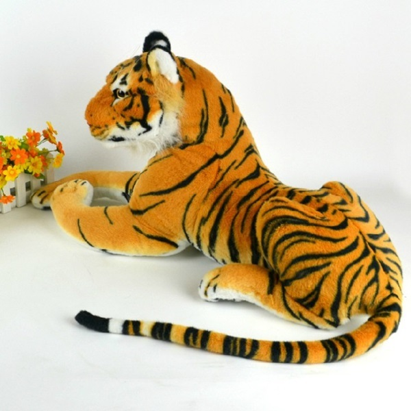 30cm Artificial Tiger Animal Plush Doll Cloth Kids Simulation Stuffed Toys