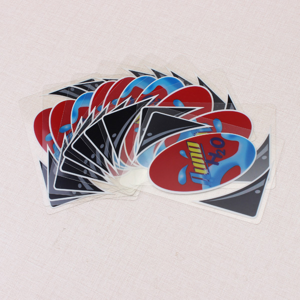 Plastic Transparent Waterproof UNO Card Game Family Fun Poker Card