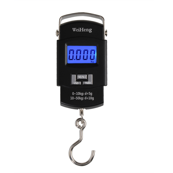 WeiHeng A08 50KG/5g Backlight Digital Handle Luggage Scale Portable