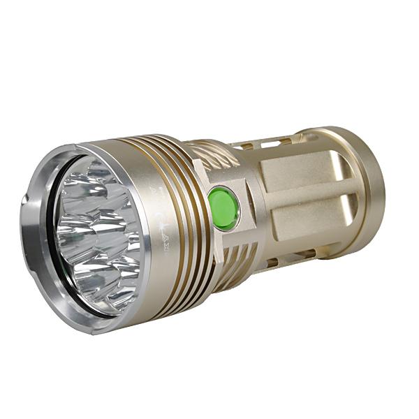 Skyray King 8x T6 10000Lumens Super Bright LED Flashlightt