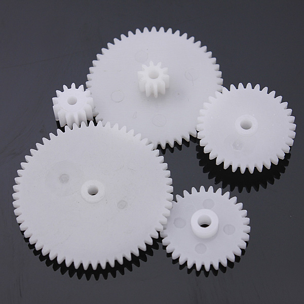 75 Type Plastic Crown Gear Single Double Reduction Gear Worm Gear