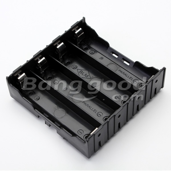 10Pcs E1A1 ABS Battery Box Holder For 4 x 18650