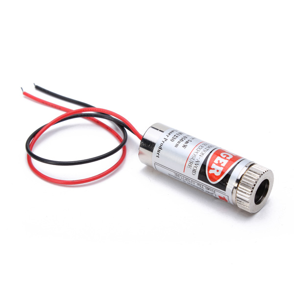 650nm 5mW Focusable Red Dot Laser Module Laser Generator Diode