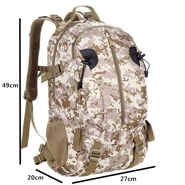 Outdoor Sports Bag Tactical Military Backpack Camping Hiking Backpack