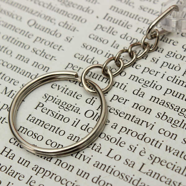 Pocketable Weather Glass & Compass Key Chain