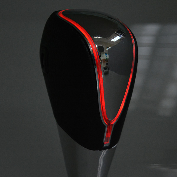 Car Faux Leather Touch Activated Ultra LED Light Shift Knob Multicolor
