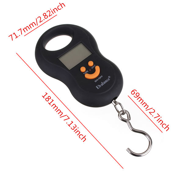 50Kgx5g Hanging Pocket Digital Fishing Weight Luggage Scale