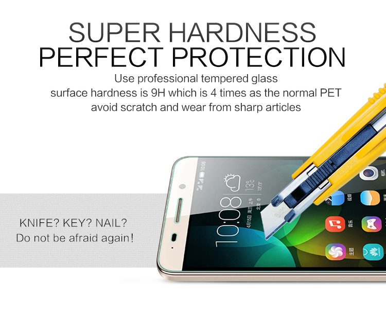 NILLKIN H Nano Anti-burst Tempered Glass Screen Protector For Huawei Honor Play 4C