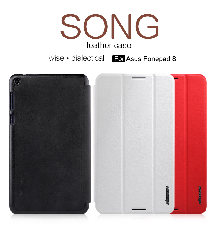 NILLKIN Song Leather Case For Asus Fonepad 8 Tablet