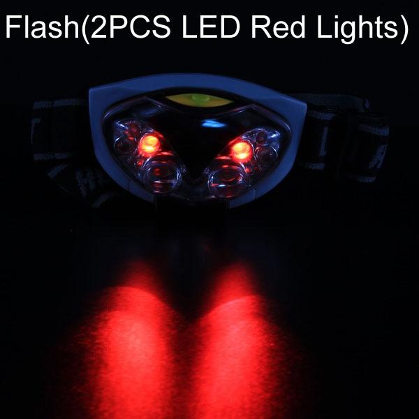 3 Mode 6 LED Bike Headlamp HeadLight Torch Light Waterproof