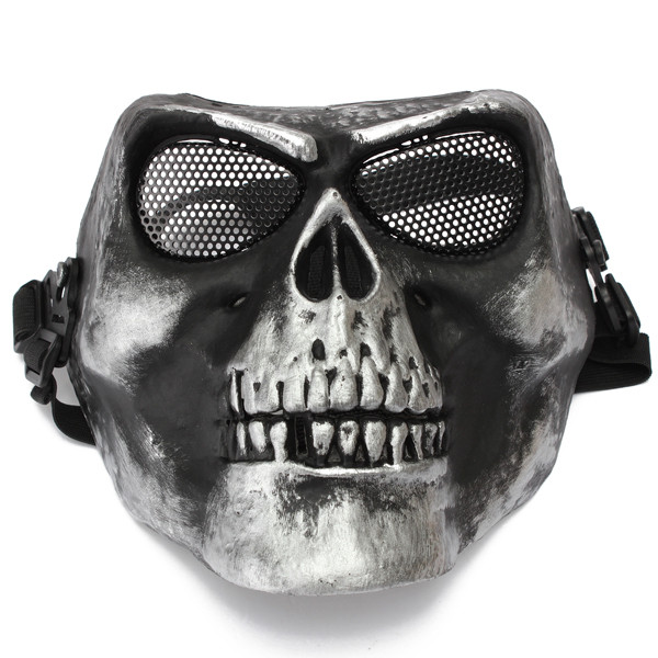Protective Safety Mask For Paintball Airsoft Game Motor