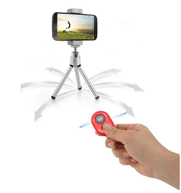 Self Timer Remote Shutter Camera bluetooth Controller For IOS iPhone