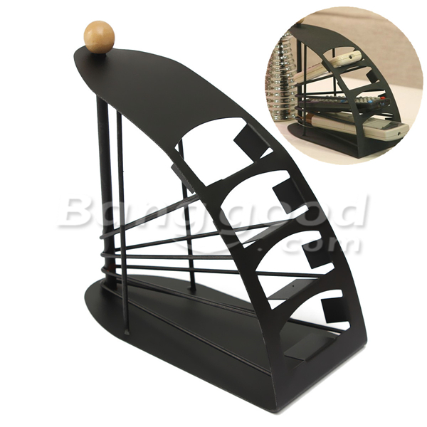 4 Layers Sailing Boat Model Solid Metal Remote Control Holder