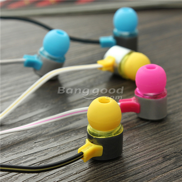 E2 In-Ear Headphones Phone Headset With Mic For Cell Phone iPhone iPad