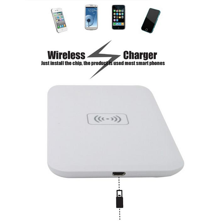 Protable QI Transmitter Wireless Charger Pad For iPhone6 Smartphone