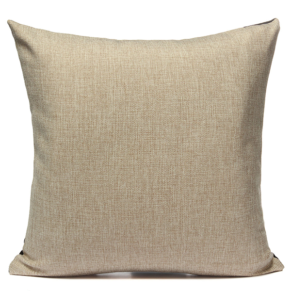 Linen Love Sofa Waist Throw Pillow Case Cushion Cover Home Decor