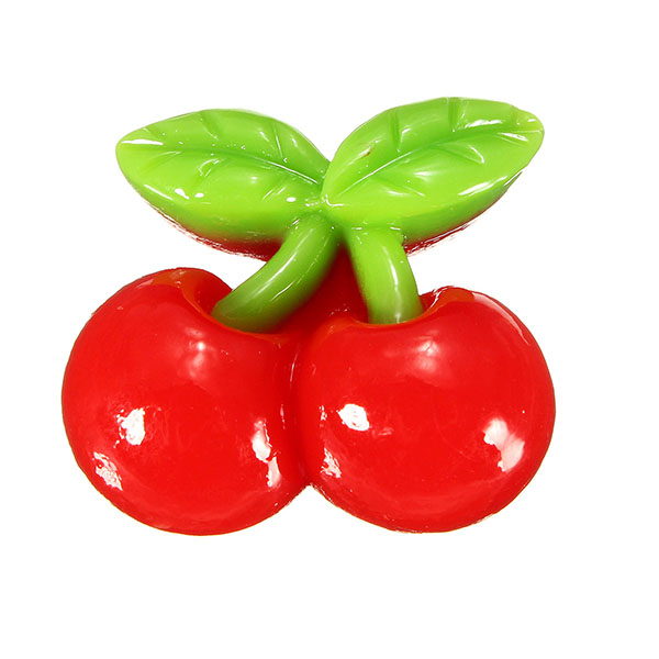 DIY Miniature Simulation Cherry Ornaments Potted Plant Garden Decor