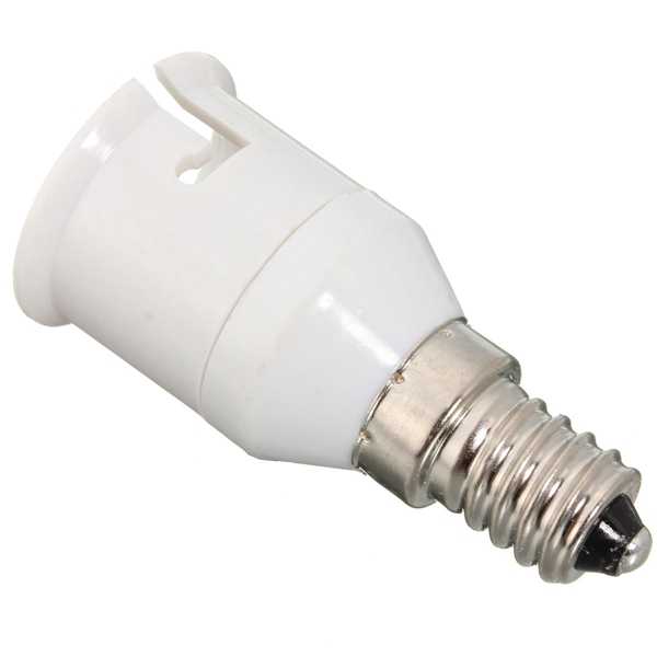 E14 To B22 LED Lamp Bulb Screw Socket Adapter Converter Holder