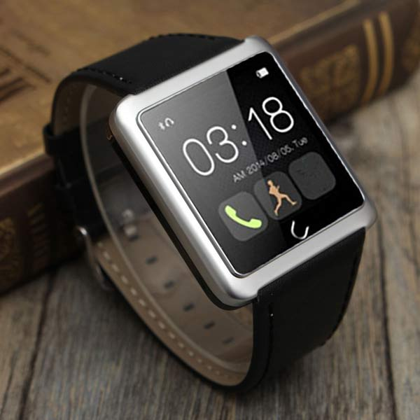 Bluetooth Smart Touch Wrist Watch Calls For iPhone IOS