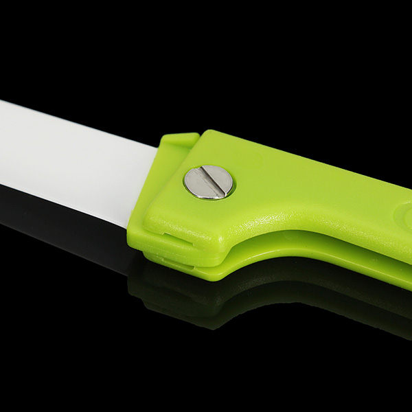 3 Inch Ceramic Paring Knife Fruit Folding Knife Portable Home Outdoor Tool