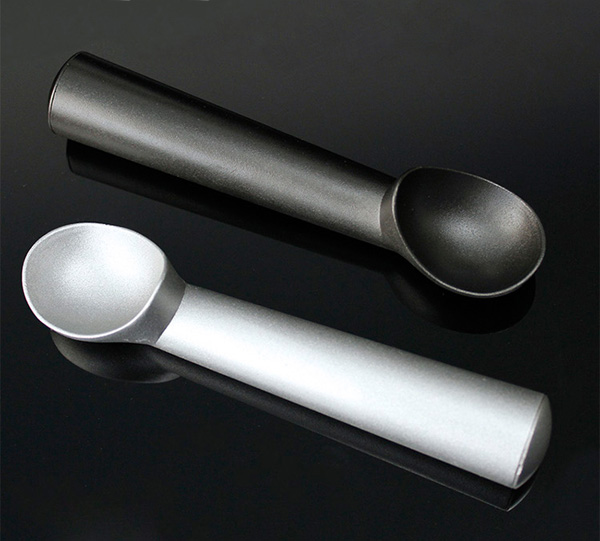 Aluminum Metal Ice Cream Scoop Non Stick Gelato Sorbet Spoon Kitchen Tool