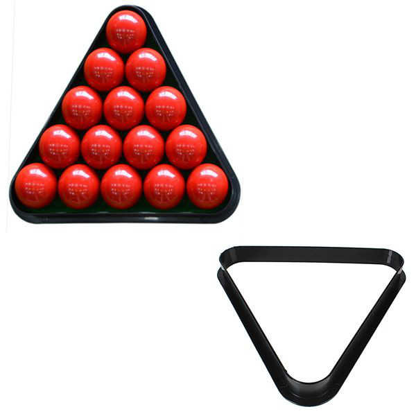 8 Ball Pool Billiard Table Rack Triangle Rack Plastic Billiards Tripod Standard Size