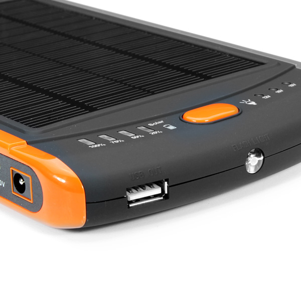 23000mAh Solar Charger Power Bank Cover For iPhone Smartphone