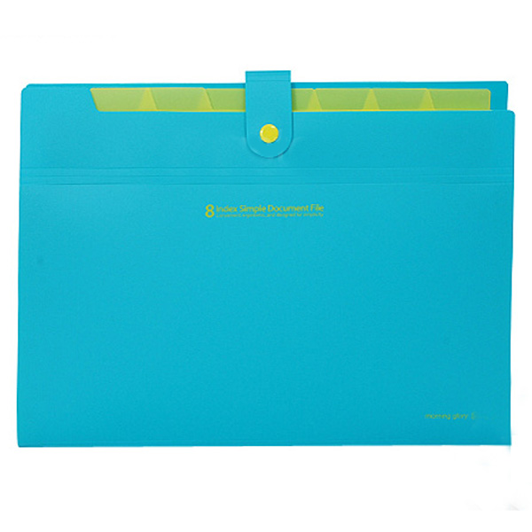 Plastic 8 Layers A4 Paper File Folder Cover Document Office Supplies