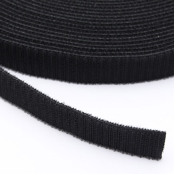 25M Black Strapping Cable Tie Magic Tape