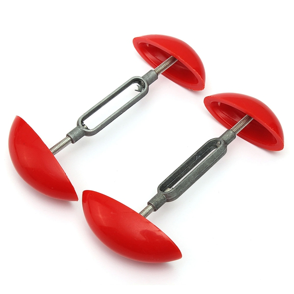 2pcs Mini Shoe Tree Stretcher Shaper Width Extender Adjustable