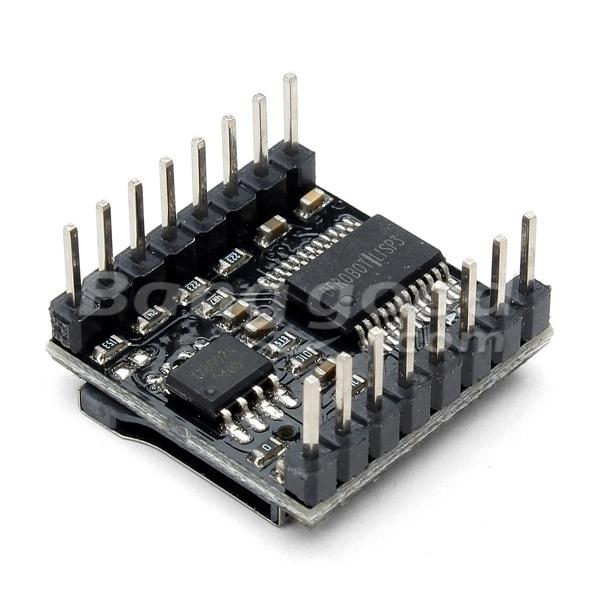 DFPlayer Mini MP3 Player Module MP3 Voice Audio Decoder Board For Arduino Supporting TF Card U-Disk IO/Serial Port/AD