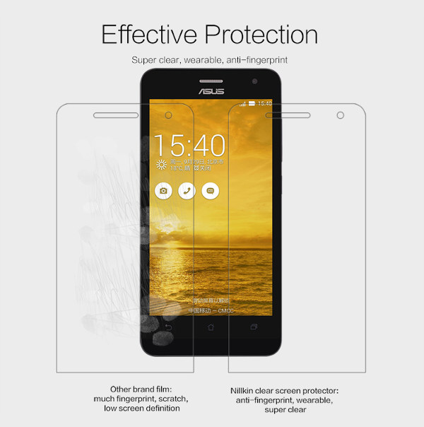 NILLKIN Super Clear Screen Protector For Asus Zenfone 5 Lite