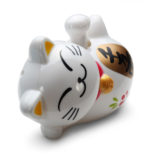 Solar Power Waving Claw Fortune Cat Furnishing Article Toys