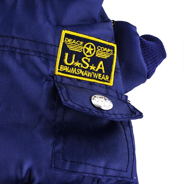Pet USA Air Force Suit Jumpsuit Coat Clothes Winter