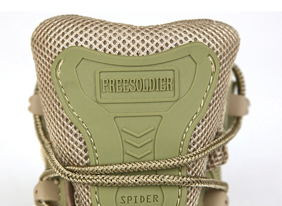 Free Soldier Military Tactical Boots EU Desert Combat Outdoor Travel