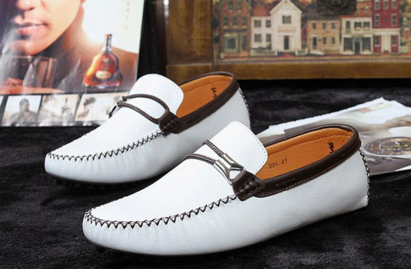 British Style Men's Boat Moccasin Leather Shoes Driving Loafer Oxfords