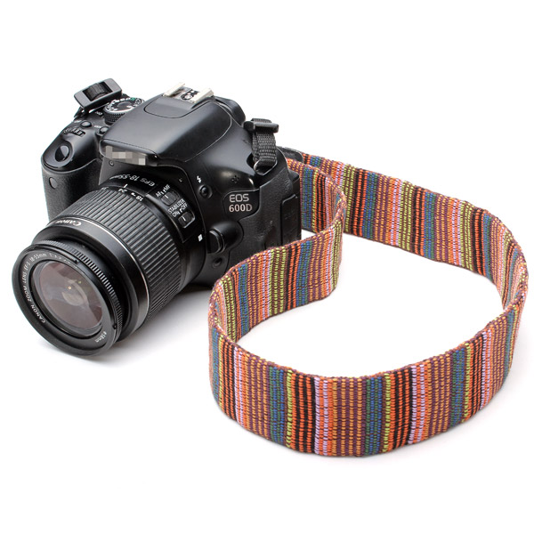 Color Neck Shoulder Strap For DSLR Nikon Canon And Othe
