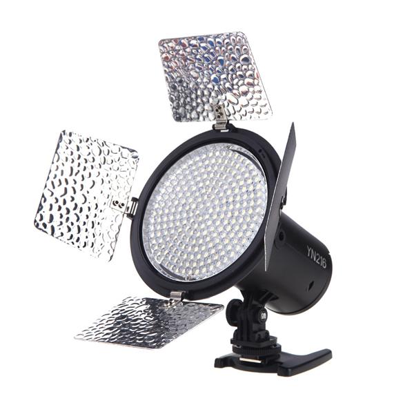Yongnuo YN216 13W 5500K CRI 90 LED Video Light For Canon DSLR Camera