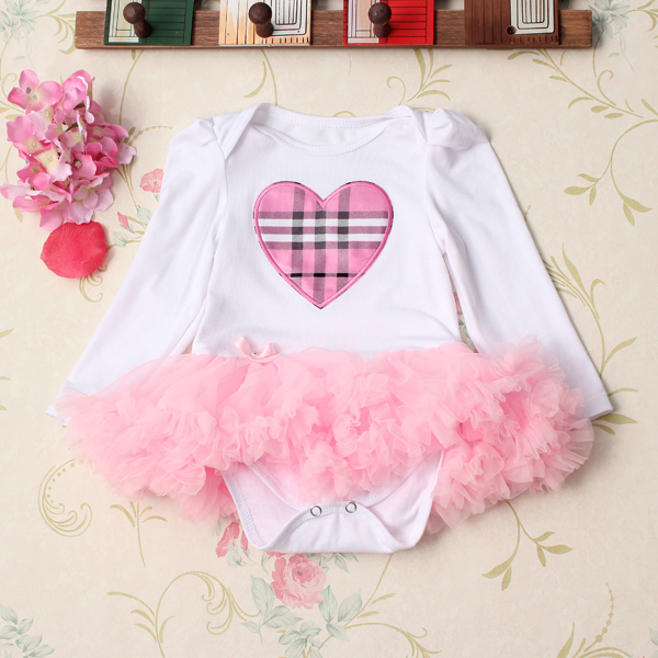4Pcs Baby Girl Headbrand Romper Skirt Outfit Shoes Suit Set