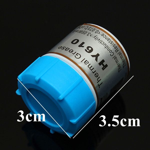 10g Golden Thermal Paste Grease Compound Silicone For Graphics CPU Heat Sink