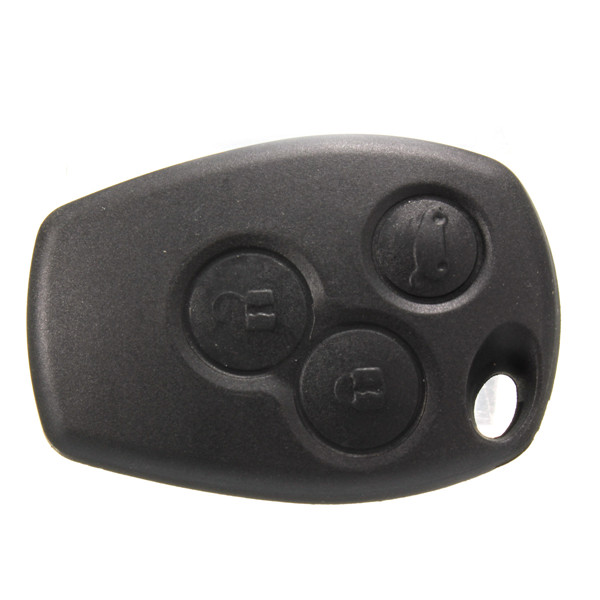 3 Button Remote Key Shell Uncut Blade For RENAULT Clio Megan Modus