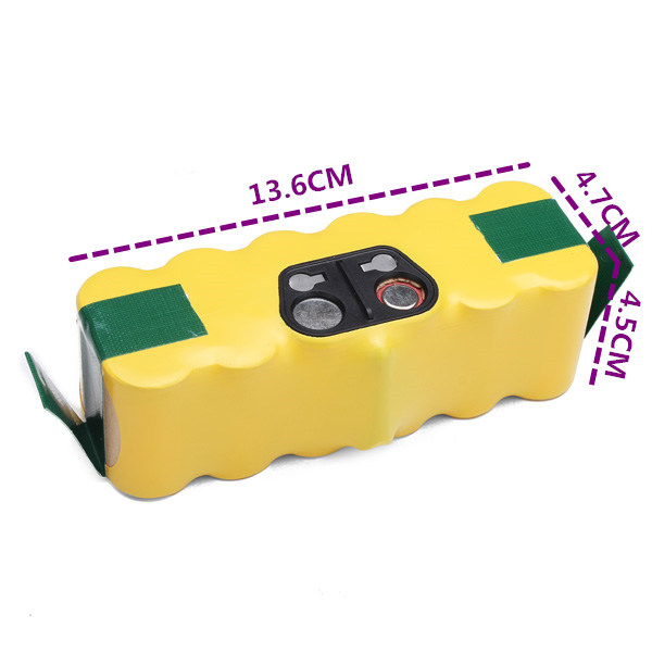 14.4V 3500mAh Ni-Mh Replacement Battery Pack for Vacuum Cleaner