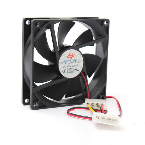 90x90x25mm 12V 4Pin Computer PC CPU Silent Cooling Cooler Case Fan